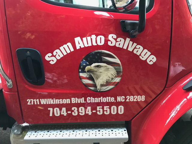 Picture Sam Auto Salvage Charlotte North Carolina